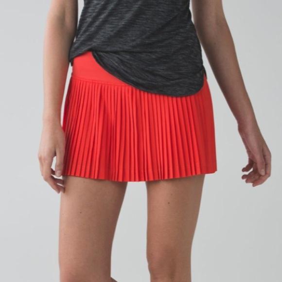 lululemon athletica Pants - Lululemon Pleat to Street Skirt